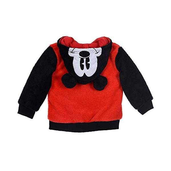 Sudadera con cremallera y capucha de Mickey Mouse de Disney, Neonato, para niño, SunCity Tallas 6/24 meses - HS0123 2