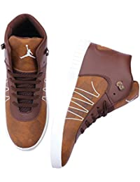 MOU Stylish Casual Party Wear Sneakers Lace-Up Boots Shoes For Men's & Boy's/Casual Wear Shoes/Formal Wear Shoes...