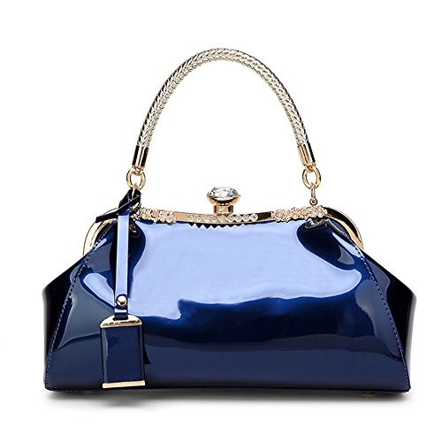 FavoMode, Borsa a mano donna Navy blue