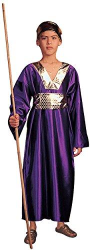 Wiseman Kostüm Kind - RG Kost-me 90181-L Wiseman Kost-m - Purple - Gr--e Kind Gro-e 12-14
