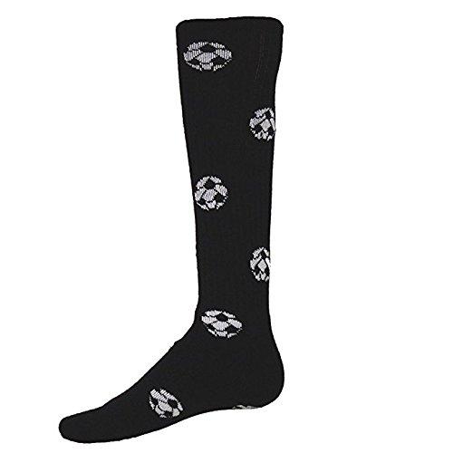 Red Lion Schwarze Socken (Red Lion Fußball Bälle Athletic Socken)