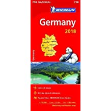 Germany 2018 - Michelin National Map 718 (Michelin National Maps)
