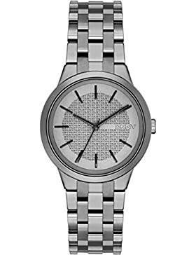 DKNY Damen-Armbanduhr Analog Quarz Edelstahl NY2384