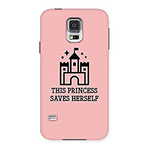 Neo World Premium Just Princess Things Back Case Cover for Samsung Galaxy S5