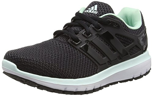 adidas Damen Energy Cloud Wtc Laufschuhe, Schwarz (Utility Black/cloud Black/ice Green), 38 EU
