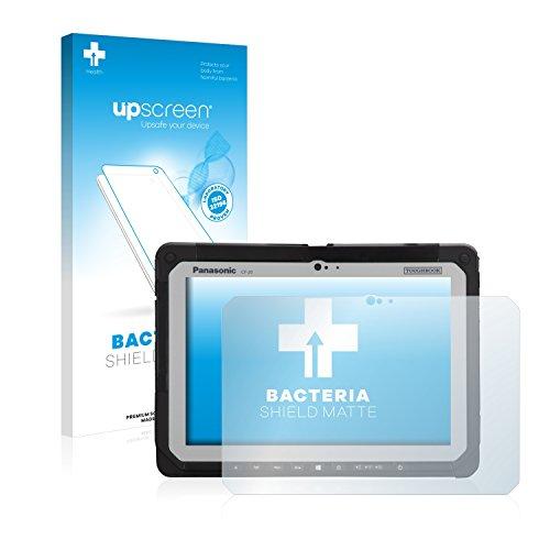 upscreen Antibakterielle Schutzfolie Matt kompatibel mit Panasonic Toughbook CF-20 - Anti-Reflex Bildschirmschutzfolie, Anti-Fingerprint, Anti-Kratzer