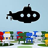 Autocollant De Mode Chambre Décoration Vinyle Art Garçon Affiche Murale Enfant Bébé Home Decor Avion Vaisseaux Spatiaux Cartoon Décoration Décor Or 42X73CM