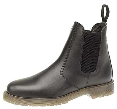 Mens Grafters Leather Dealer Boots Black size 6 UK