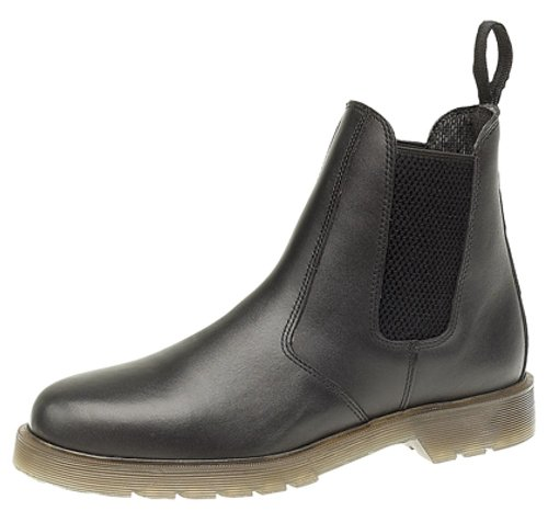Grafters Mens Leather Dealer Boots With Aircushion Sole