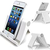 Doogee Titans 2 DG700 Smartphone Halter Ständer / Halterung Ständer für Büro, Schreibtische - Handyständer Weiß