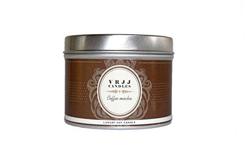 Café Mocha, vela, aroma de café, aroma, aroma, aroma de lata, aroma, café, Cafe Latte, velas, café, aroma de caramelo, VRJJ velas®