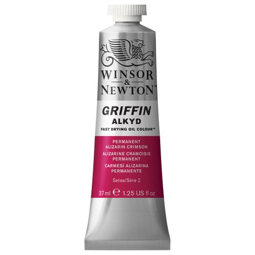 winsor-newton-griffin-37ml-alkyd-fast-drying-oil-colour-tube-permanent-alizarin-crimson