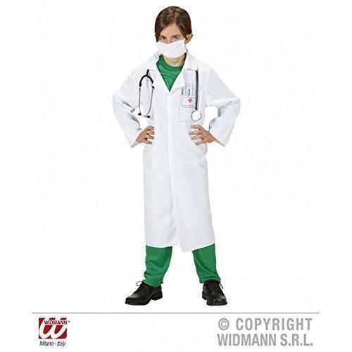 Einfach Lebensretter Kostüm - Lively Moments Einfaches Kinderkostüm Doktorkostüm / Faschingskostüm / Laborkittel für Kinder Gr.158