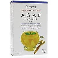 Clearspring | Agar-Agar Flakes Gelling Agent | 2 x 8 x 28g