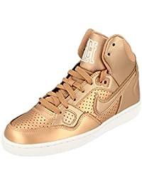 Nike Zapatillas de Material Sintético Para Mujer Dorado Dorado, Color Dorado, Talla 40.5