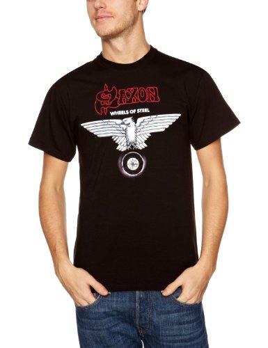 Playlogic International(World) - T-shirt, Uomo, Nero (Black), S