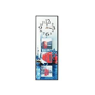 Arte Regal Import 32114–Uhr mit 3Landschaften, Mehrfarbig