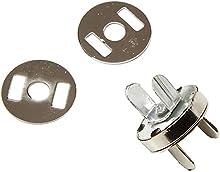 niceeshop(TM) Cierre magnético, circular, para bolsa, ropa, para coser