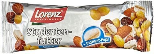 Lorenz Snack World Studentenfutter Spezial Riegel , 28er Pack (28 x 40 g)