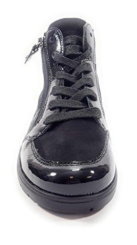 ARA 12.41048 - Baskets Mode - Femme - Semelle Amovible : Oui - Noir Noir