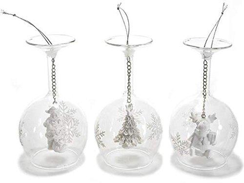 Decoración de cristal a vaso ROVESCIATO con figura