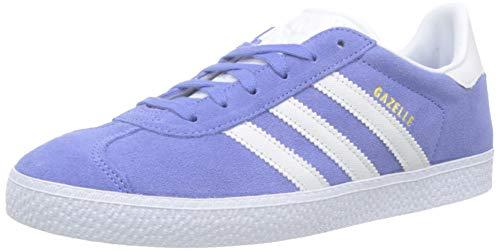 adidas Unisex-Kinder GAZELLE J Gymnastikschuhe, Violett (Real Lilac/Ftwr White), 38 EU
