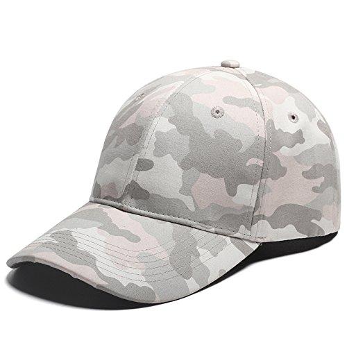 Full Camo Baseball GAP männlich & Damen Baumwolle Casual atmungsaktiv Schirmmütze, Gray Camouflage