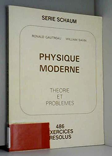 Physique moderne par Ronald Gautreau