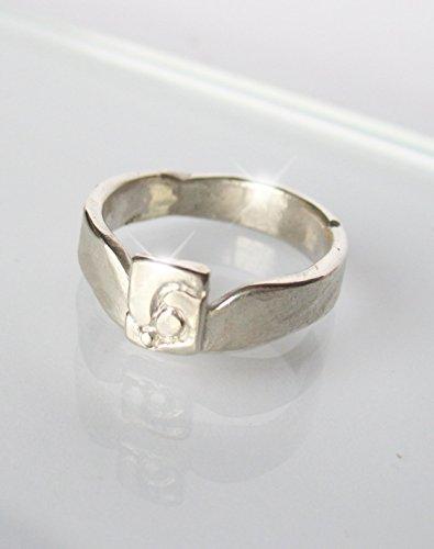 Schwerer Silberring, Herrenring, Designerring, Geschenk