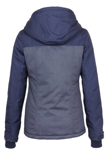 Sublevel Transition / veste d'hiver avec des trous de pouce blue