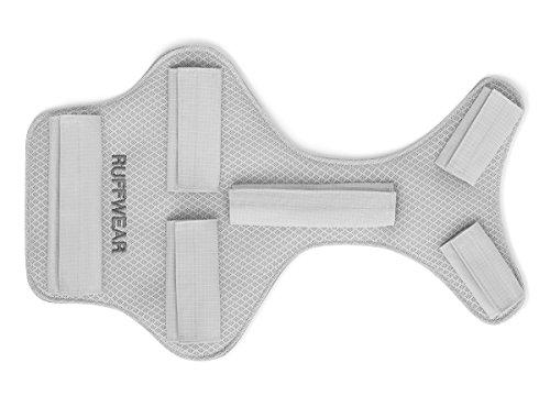 Ruffwear Kühlender Brustschutz für Hunde, Kompatibel mit bestimmten Ruffwear Geschirren und Hunderucksäcken, Größe: L/XL, Grau, Core Cooler, 3085-033LL1 - Xl Grau Core