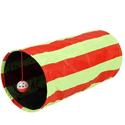 Zoom IMG-1 pieghevole gatto tunnel giocattoli 2