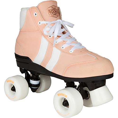 Rookie Authentic V2 Quad Roller Skates (7 UK, Pink/White) for sale  Delivered anywhere in UK