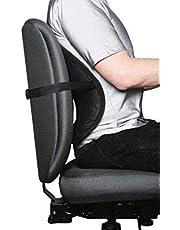 Apar 2017 Latest Universal Black Back Lumbar Support Chair Set of 2