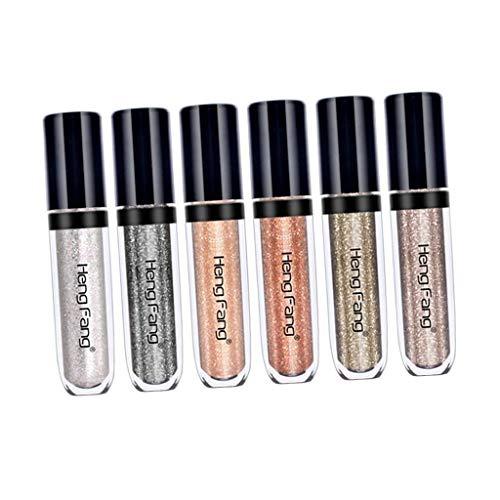 Liquid Eyeshadow Glitter Lidschatten, Flüssiger Schimmer Lidschatten Stick - A ()