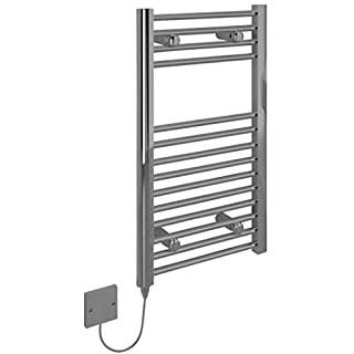 Kudox Electric Towel Warmer - 400x700mm Flat Chrome