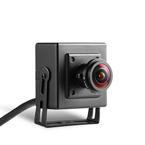 Revotech® - POE Fisheye HD 1920 x 1080P 2.0MP Intérieur IP Camera Mini type f1a685351e75