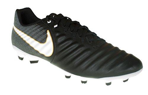 Nike Tiempo Ligera Iv Fg - black/white-black, Größe #:12 (Nike Schuhe Größe 4)