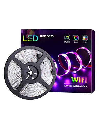 Tira Luz Led Color Musical WiFi Teléfono Inteligente