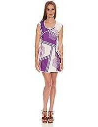 HHG Damen Kleid Violett lila XL