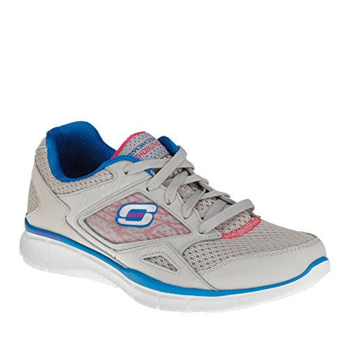 Skechers Equalizzatore Womens Sneakers Grey/Blue