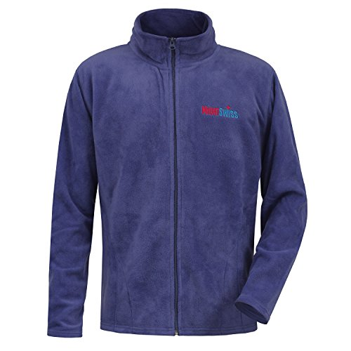 Navy Blue Jacke Fleece (MS-Levin Fleecejacke, navy.blue, Gr. XL, Herren Fleece Jacke LEVIN / Outdoor-Jacke / Übergangsjacke bis 5XL)