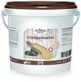 AniForte Grünlippmuschel-Pulver 1kg für Pferde, Reines Grünlippmuschel-Extrakt Perna Canaliculus, Muschel-Extrakt ohne Zusätze oder Konservierungsmittel, Made in Germany