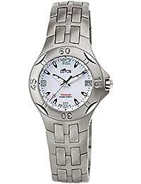 e4c6e07943bd Reloj Lotus 15186 1 de cadete en Titanio con Calendario y Resistente al  Agua hasta