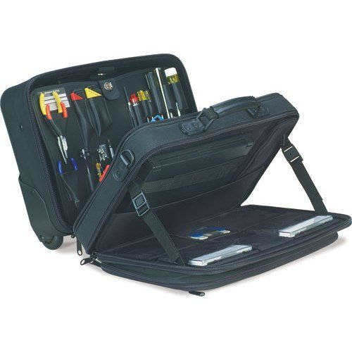 Jensen Tools 418-901 Soft Sided Rolling Tote with Pallets by Jensen