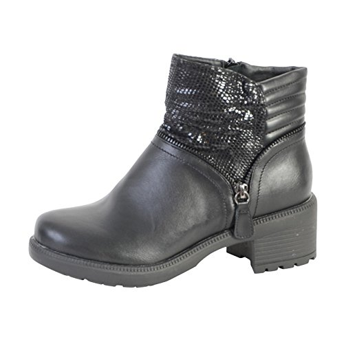 Boots The Divine Factory ZW10859 Noir Noir