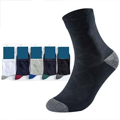 Selling Herren Sportsocken (5 Stück), Herren-Deo-Socken, Herren-Low-Socken, Baumwollschlauch-Stickerei Business Herrensocken