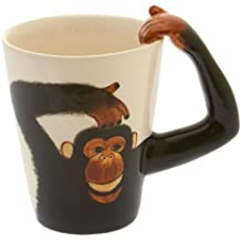Monkey/Chimp Handle Tea/Coffee Mug - Cheeky Monkey Mug