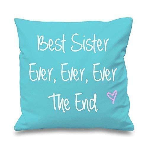 'Aqua Coussin Best Sister jamais jamais jamais The End 16 \