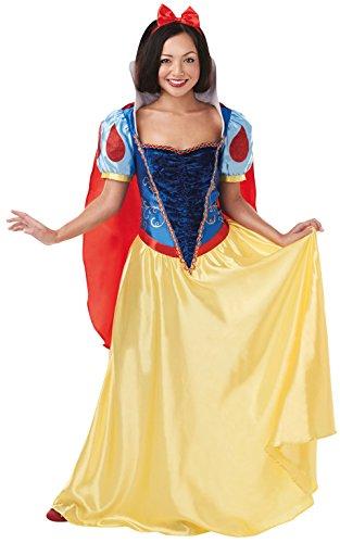 Rubie 's Offizielles Disney Princess Snow White Erwachsene Damen Kostüm–UK Damen (Zwerge Kostüme Schneewittchen Fancy Dress Sieben)